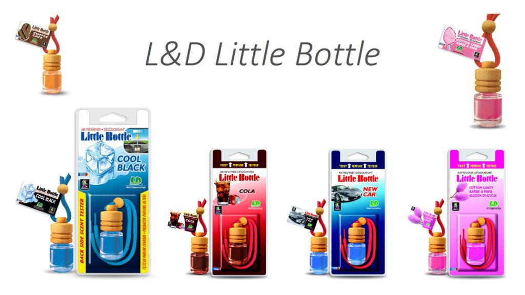 Vůně do auta L&D Little Bottle - ld-vune.cz