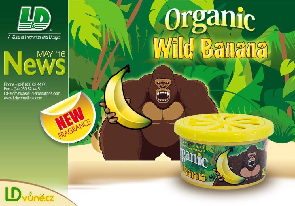 Vůně Wild Banana L&D Oraganic novinka LDvůně