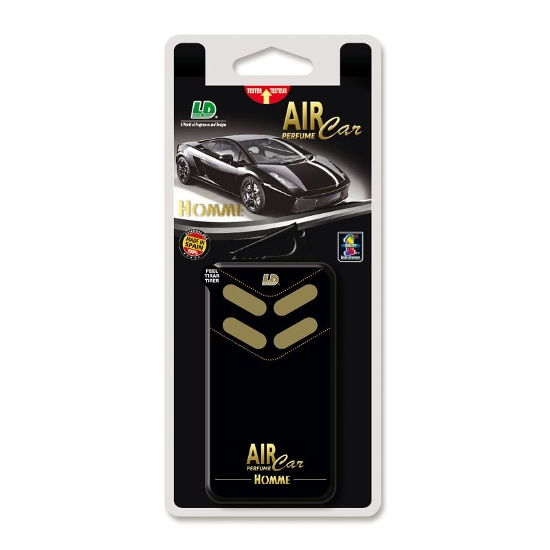 Autoparfém Little Box Vent Air Car Perfume Homme LD Vůně - L&D Aromaticos