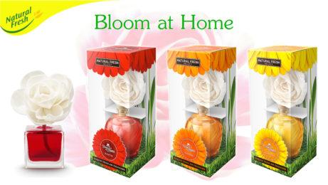 Bytový difuzér květina Bloom-at-Home-Natural